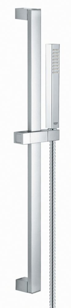 GROHE Euphoria Cube Shower Set in StarLight Chrome - 1 Spray