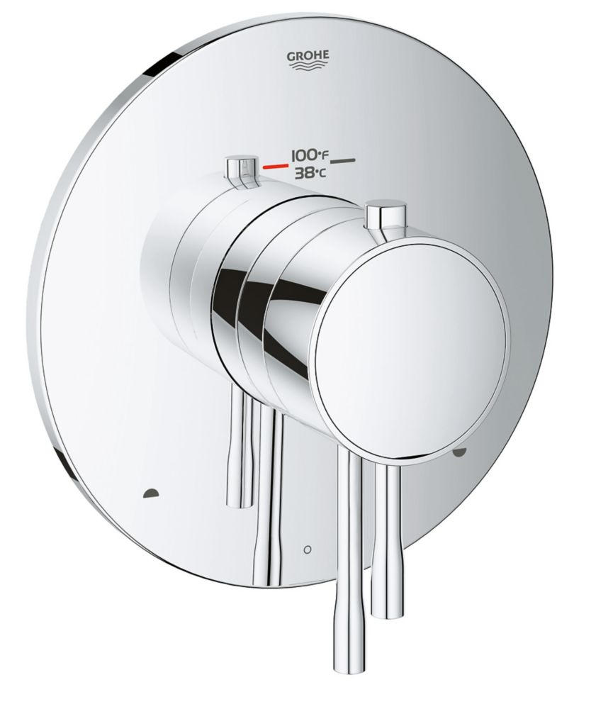 GROHE Essence Dual Function Thermostatic Trim with Control Module (Rough-in Box Sold Separately)
