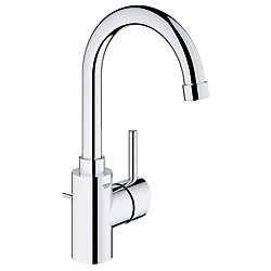 GROHE Concetto Single Hole Single-Handle High-Arc Bathroom Faucet in StarLight Chrome