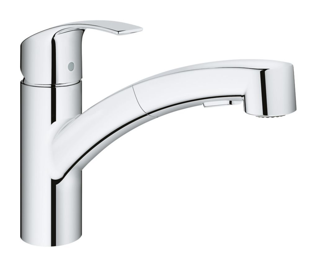 GROHE Minta Single-Handle Pull-Down Sprayer Kitchen Faucet in GROHE ...