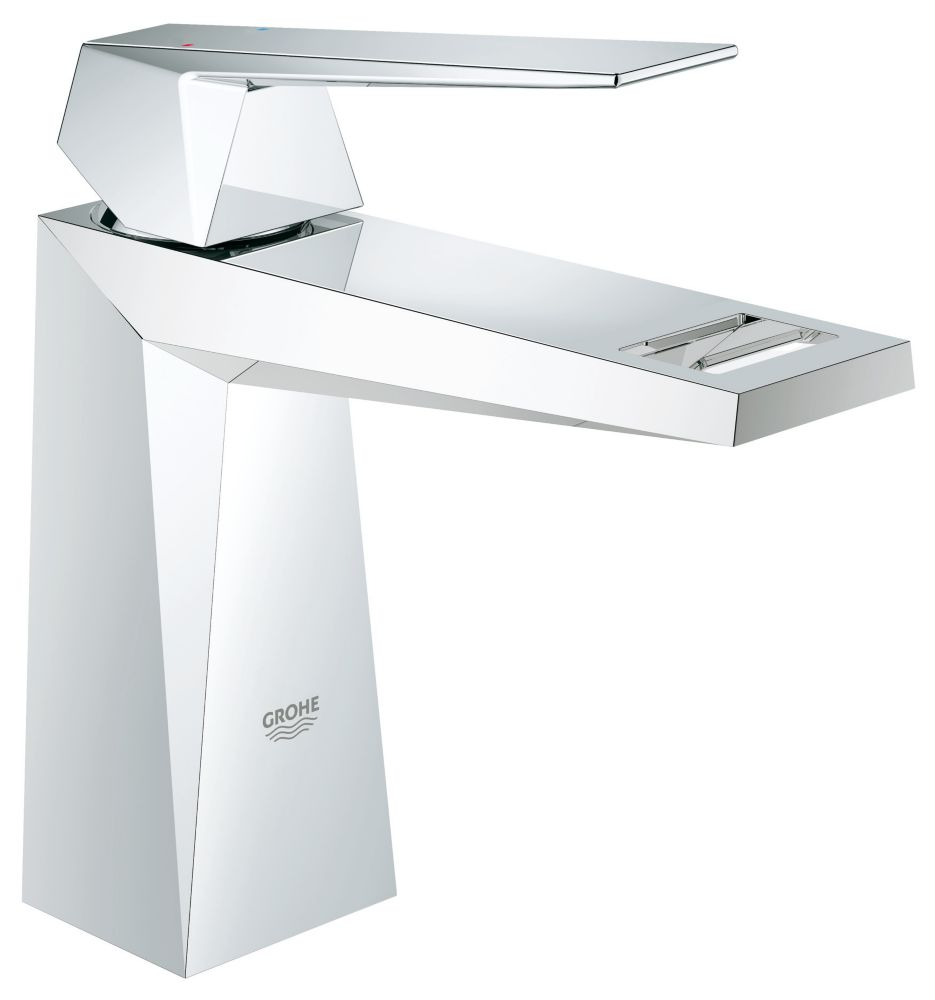 GROHE Allure Brilliant Single Hole Single-Handle 1.2 GPM Bathroom Faucet in StarLight Chrome