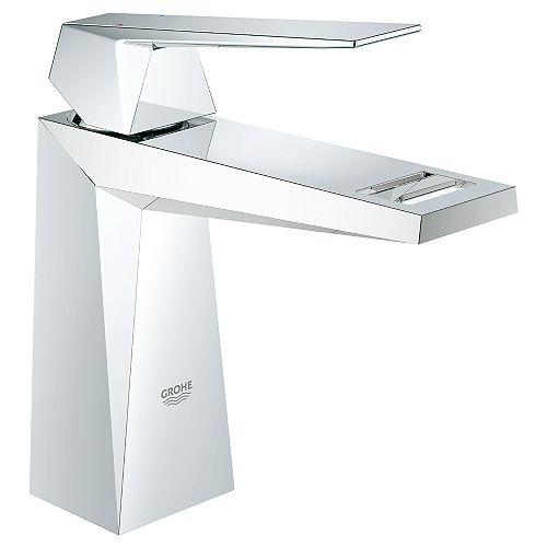 GROHE Allure Brilliant Single Hole Single-Handle 1.2 GPM Bathroom Faucet in StarLight Chrome