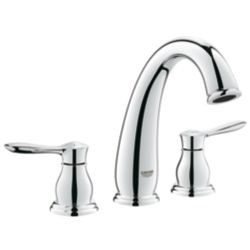 GROHE Parkfield 2-Handle Roman Tub Faucet in StarLight Chrome