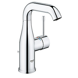 GROHE Essence M-Size Centerset Single-Handle Bathroom Faucet in StarLight Chrome