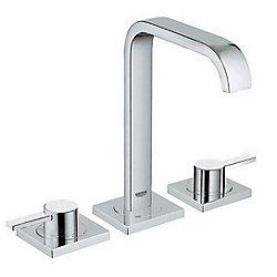 GROHE Allure 8 inch Widespread 2-Handle 1.2 GPM Bathroom Faucet in StarLight Chrome