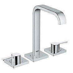 Robinet espacé de salle de bain 8po Allure à deux poignées 1,2gpm en chromeStarLight