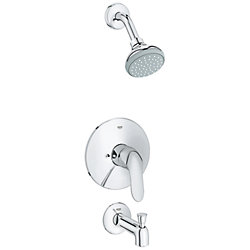 GROHE Agira Pressure Balance Value Shower/Tub Trim Combination (Valve sold separately)