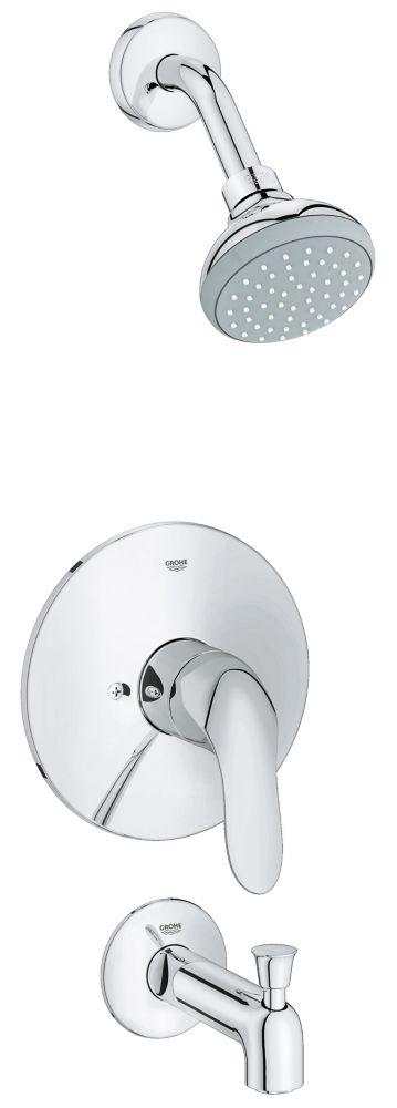 GROHE Agira Pressure Balance Value Shower/Tub Trim Combination (Valve sold separately)