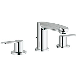 GROHE Eurostyle Cosmopolitan 8 inch Widespread 2-Handle Low Arc Bathroom Faucet in StarLight Chrome