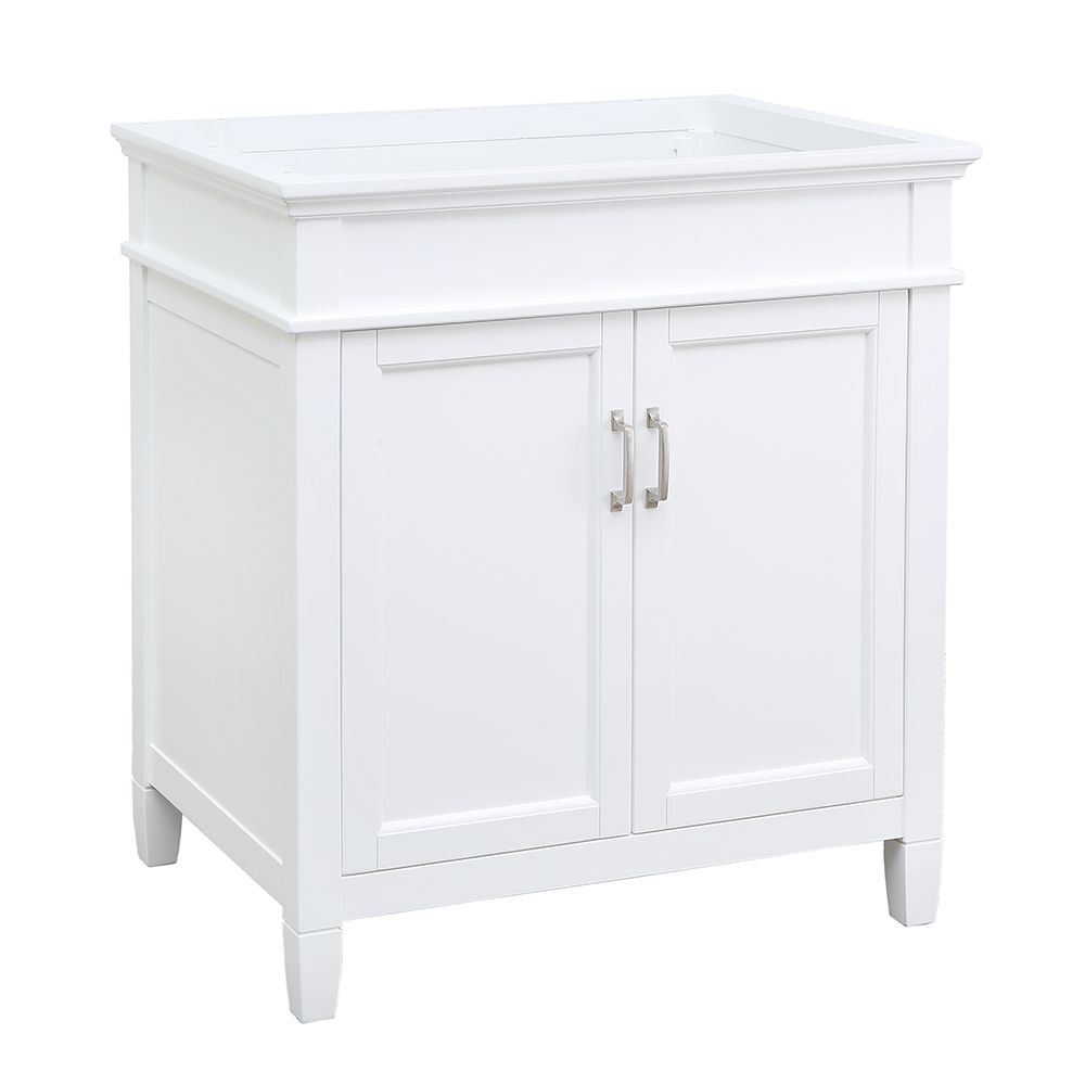 Foremost Ashburn 30 inch Vanity Cabinet in White