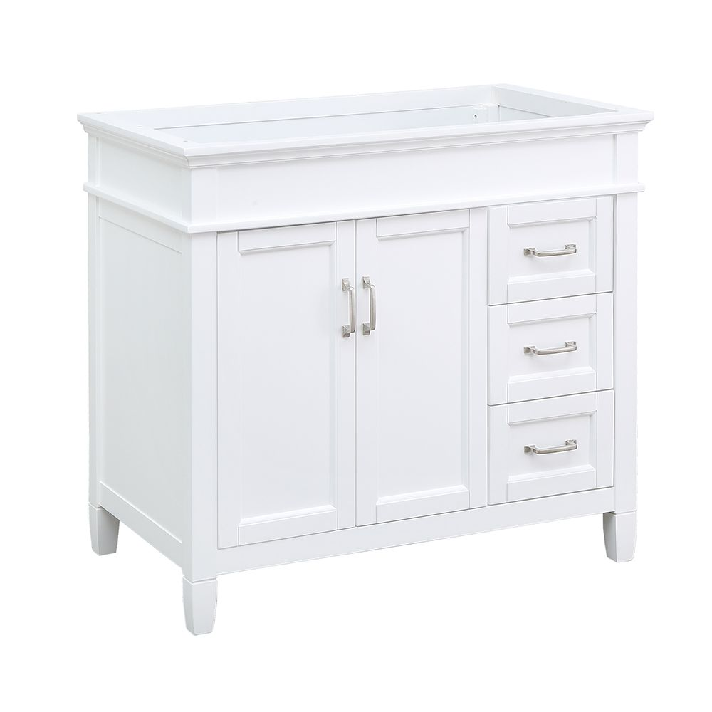 Foremost Ashburn 36 inch Vanity Cabinet in White