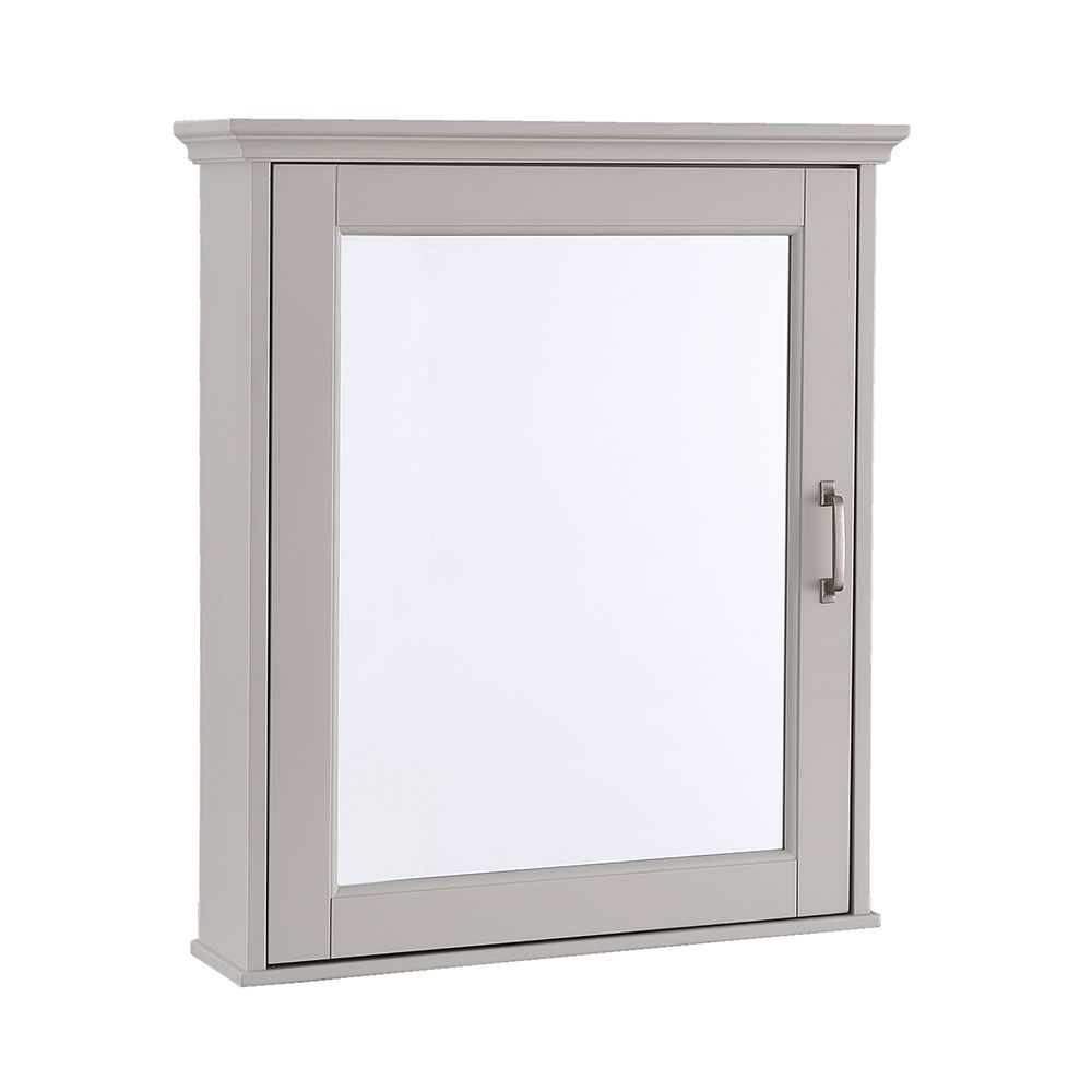 Foremost Ashburn 23.5 inch x 28 inch Medicine Cabinet in Grey
