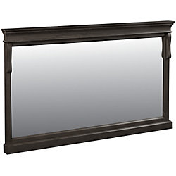 Foremost Mirroir 60po Naples en noyer antique
