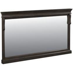 Foremost Naples 60in Mirror in Antique Walnut