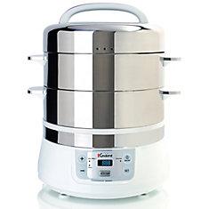 Electric Food Steamer - 16L