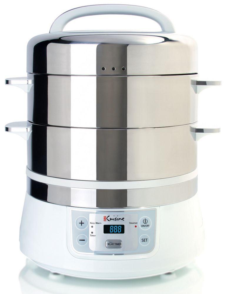 Euro Cuisine Electric Food Steamer - 16L