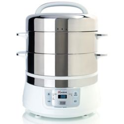 Euro Cuisine Electric Food Steamer - 16L