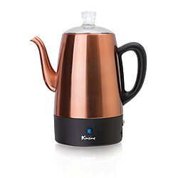 Euro Cuisine Electric Coffee Percolator - 8 Cup