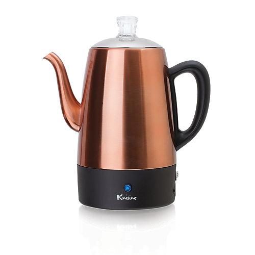 Percolateur à café électrique - 8 tasses