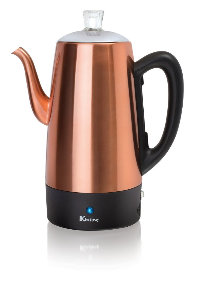 Euro Cuisine Electric Coffee Percolator - 12 Cup