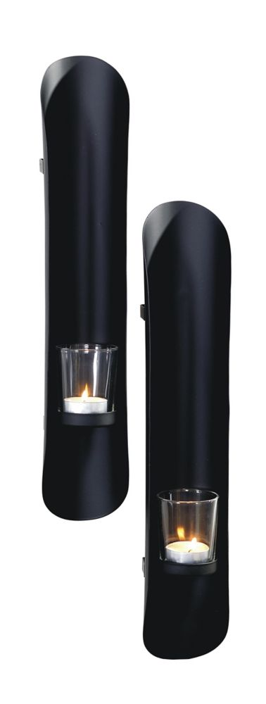 Art Maison Canada 3x16 BOLD, Metal with Glass Wall Sconce (Set of 2)