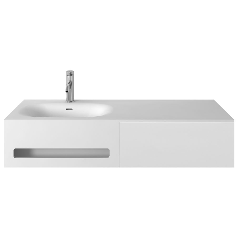 Jade Bath Valera 48 inch Single Wall-Mounted Bathroom ...