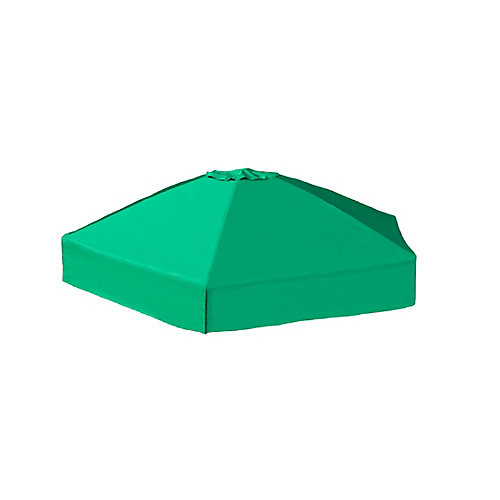 7pi. x 8pi. x 13,5 po. Housse de Sandbox pliable hexagonale