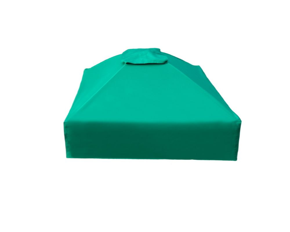 Frame It All 48 inch X 48 inchx 37 inch Telescoping Square Sandbox Canopy/Cover