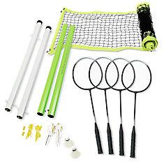 4 Player Intermediate Badminton Set