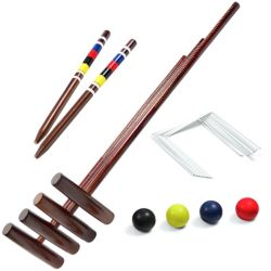 VIVA ACTIVE Croquet Set Intermediate