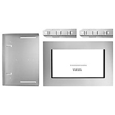 27-inch Microwave Trim Kit in Fingerprint Resistant Stainless Steel