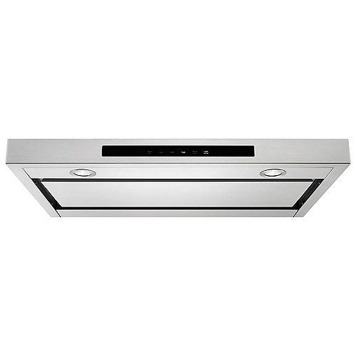 KitchenAid 30-inch Low Profile Under Cabinet Range Hood in Stainless Steel