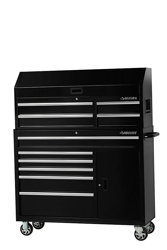 52-inch 10-Drawer Tool Chest and Cabinet Combo
