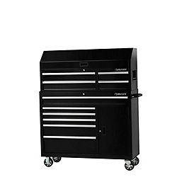 HUSKY 52-inch 10-Drawer Tool Chest and Cabinet Combo
