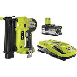 RYOBI Kit Cloueur 18V ONE+Brad avec Batterie 4 Ah