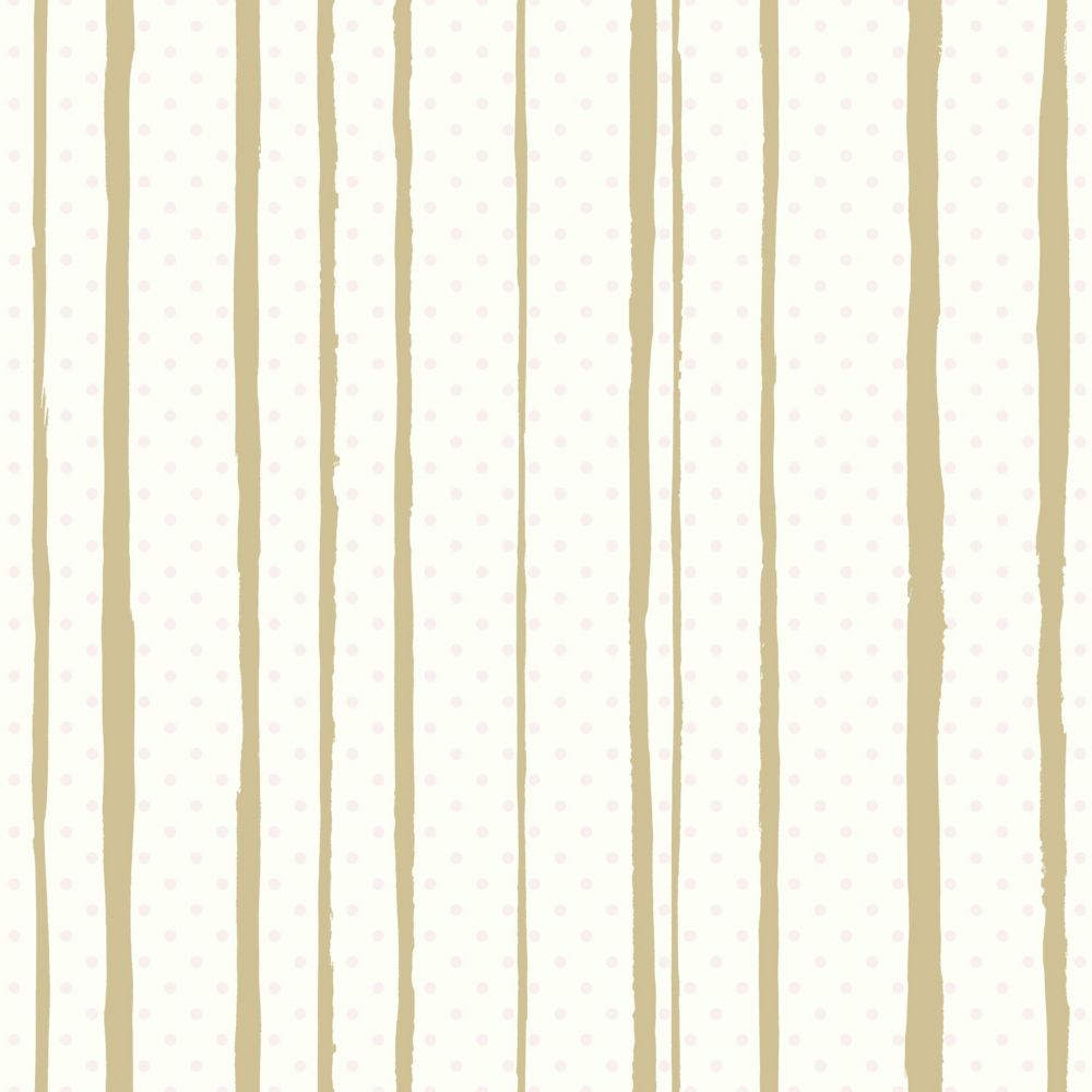 RoomMates All Mixed Up Pink/Gold Peel & Stick Wallpaper