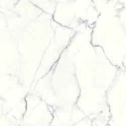RoomMates papier peint adhésif marbre de Carrare
