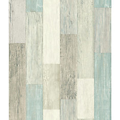 Coastal Weathered Plank Peel & Stick Wallpaper