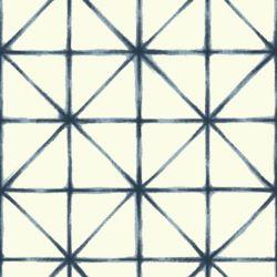 RoomMates Modern Abstract Blue Peel & Stick Wallpaper