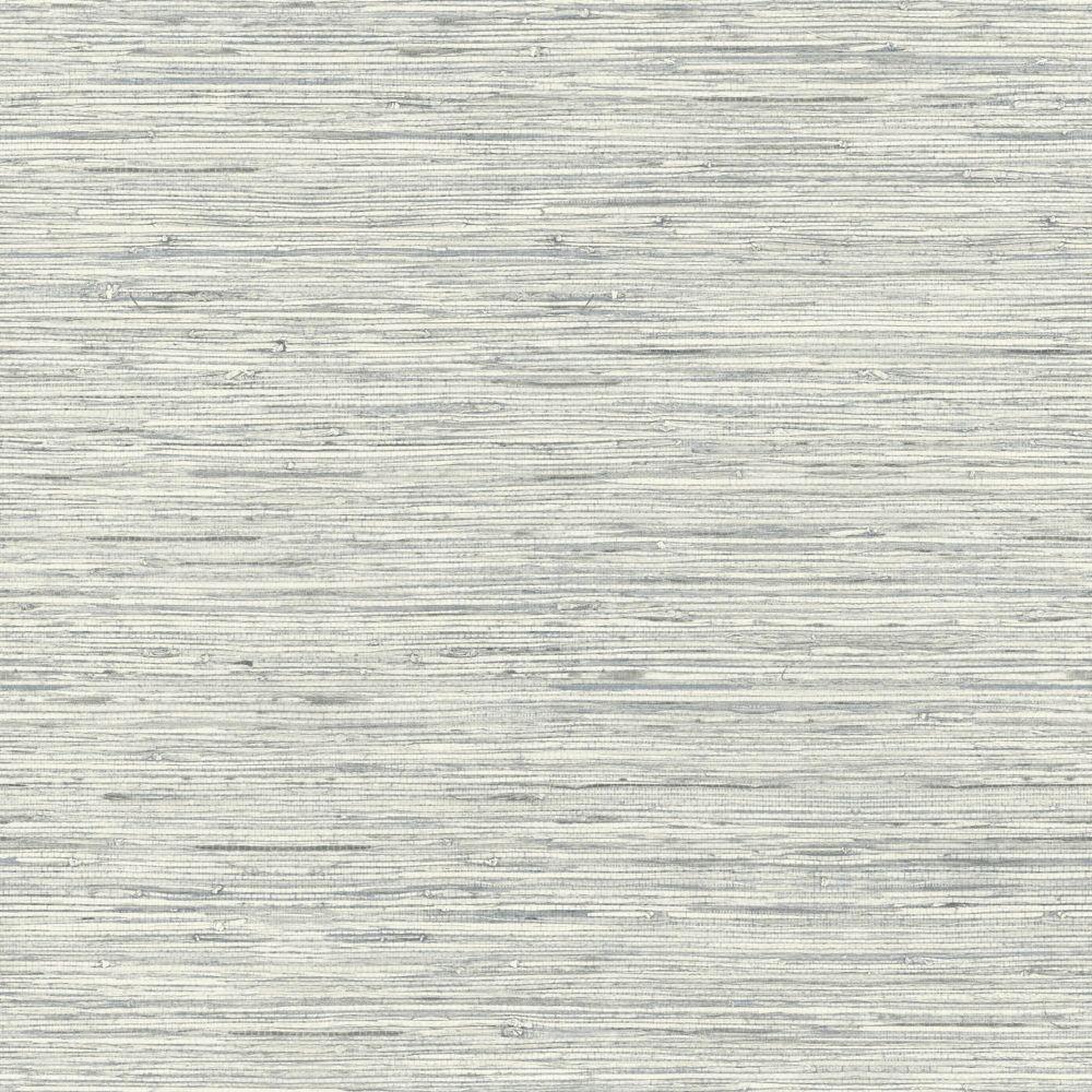 RoomMates Grasscloth Grey Peel & Stick Wallpaper