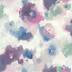Impressionist Floral Peel & Stick Wallpaper