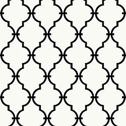 RoomMates Modern Trellis Peel and Stick Wallpaper
