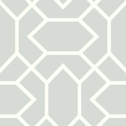 RoomMates Lt Grey Modern Geometric Peel & Stick Wallpaper