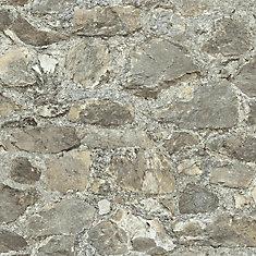 Weathered Stone Peel & Stick Wallpaper