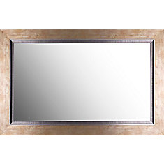 27X43 Gold Wall Mirror Ready to Hang