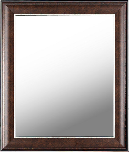 Mirrorize Canada 21X25 Bronze Framed Mirror Ready to Hang   The Home ...