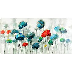 Les fleurs XX1, l'Art Floral, l'acrylique toile Art