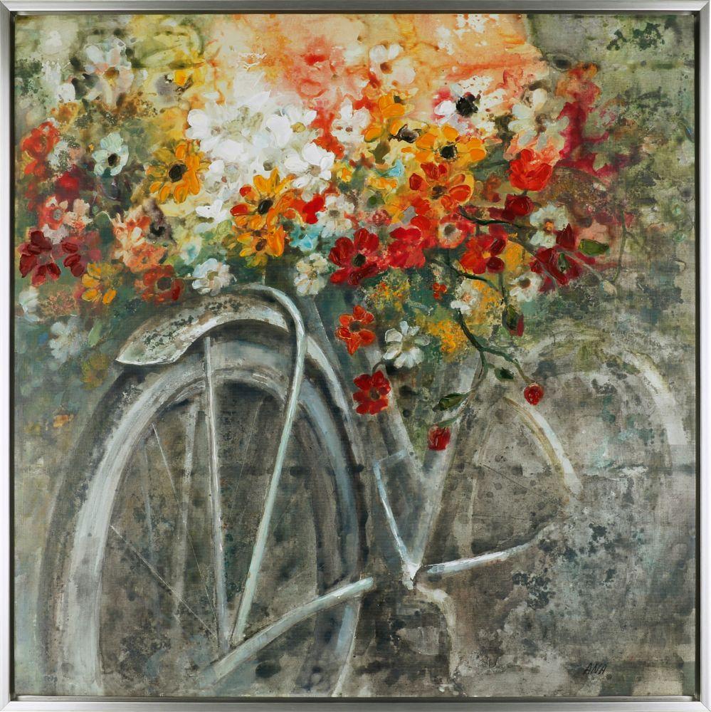 Art Maison Canada the Bicycle IV, Acrylic on Canvas Art