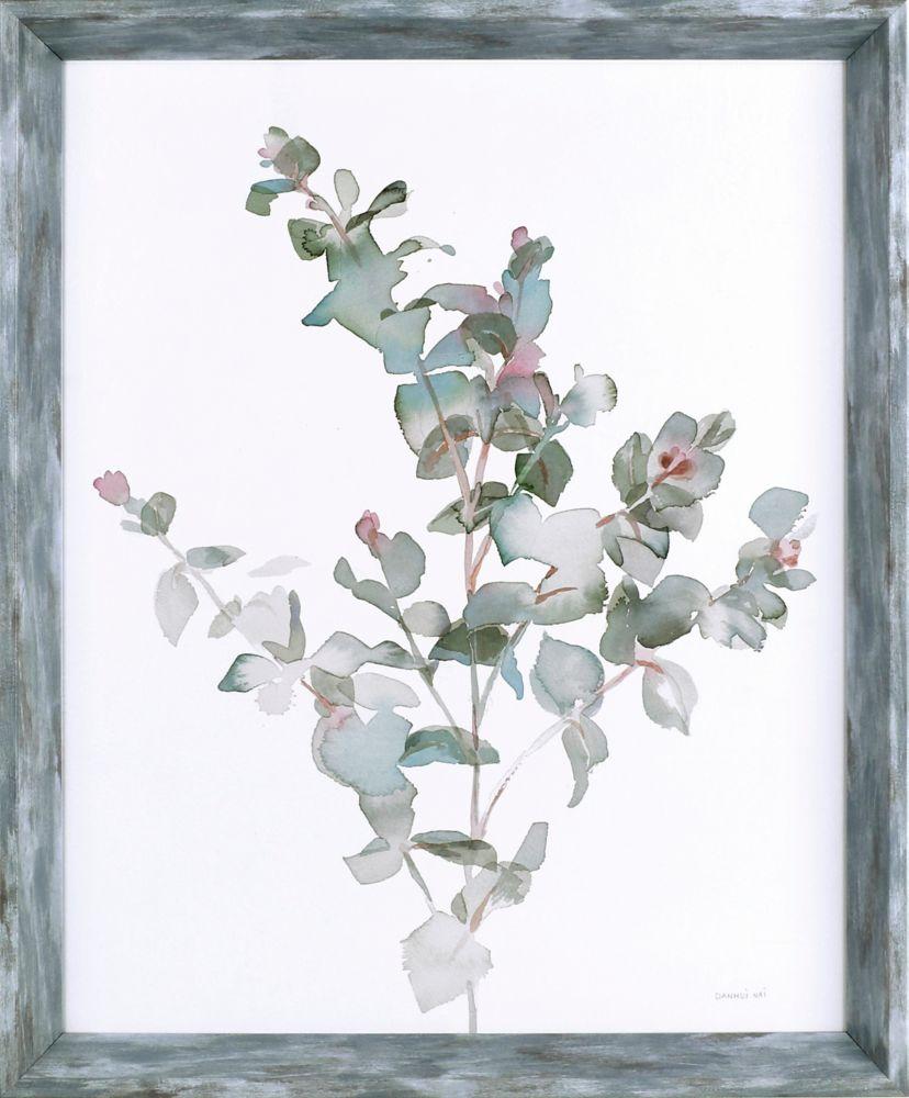 Art Maison Canada Soft Pallette, Floral Art, Print on Paper, Laminated