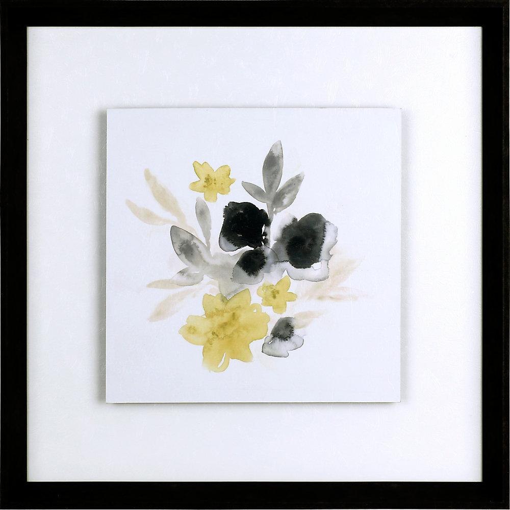 Citrous Bouquet, Floral Art, Print on Paper, Laminated